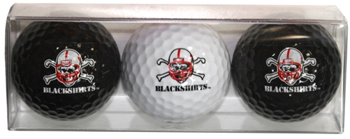 Blackshirts Golf Balls Nebraska Cornhuskers, husker football, nebraska cornhuskers merchandise, husker merchandise, nebraska merchandise, nebraska cornhuskers golf accessories, husker golf accessories, nebraska golf accessories, nebraska golf merchandise, husker golf merchandise, nebraska cornhuskers golf merchandise, Blackshirts Golf Balls