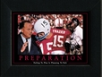 Preparation Framed Nebraska Cornhuskers, Preparation Framed