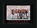 Teamwork Framed Nebraska Cornhuskers, Teamwork Framed