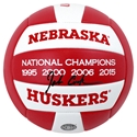 John Cook 4 Titles Huskers Volleyball Nebraska Cornhuskers, husker volleyball, nebraska cornhuskers merchandise, husker merchandise, nebraska merchandise, husker memorabilia, husker autographed, nebraska cornhuskers autographed, John Cook autographed, John Cook signed, John Cook collectible, John Cook, nebraska cornhuskers memorabilia, nebraska cornhuskers collectible, John Cook Autographed  Volleyball