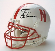 Osborne Authentic Helmet Nebraska Cornhuskers, husker football, nebraska cornhuskers merchandise, husker merchandise, nebraska merchandise, husker memorabilia, husker autographed, nebraska cornhuskers autographed, Tom Osborne autographed, Tom Osborne signed, Tom Osborne collectible, Tom Osborne, nebraska cornhuskers memorabilia, nebraska cornhuskers collectible, Osborne Full Sized Helmet