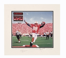 Osborne Collection - Alfred Print Nebraska Cornhuskers, husker football, nebraska cornhuskers merchandise, husker merchandise, nebraska merchandise, husker memorabilia, husker autographed, nebraska cornhuskers autographed, Tom Osborne autographed, Tom Osborne signed, Tom Osborne collectible, Tom Osborne, nebraska cornhuskers memorabilia, nebraska cornhuskers collectible, ON SALE  Alford Print