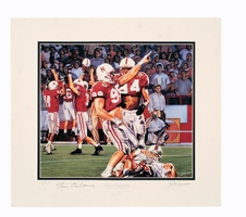 Osborne Collection - Connealy Print Nebraska Cornhuskers, husker football, nebraska cornhuskers merchandise, husker merchandise, nebraska merchandise, husker memorabilia, husker autographed, nebraska cornhuskers autographed, Tom Osborne autographed, Tom Osborne signed, Tom Osborne collectible, Tom Osborne, nebraska cornhuskers memorabilia, nebraska cornhuskers collectible, ON SALE  Connealy Print