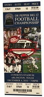 Final Big 12 Championship Game Ticket Nebraska Cornhuskers, Nebraska One of a Kind, Huskers One of a Kind, Nebraska Final Big 12 Championship Game Ticket, Huskers Final Big 12 Championship Game Ticket