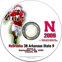 2009 Arkansas State Dvd Husker football, Nebraska cornhuskers merchandise, husker merchandise, nebraska merchandise, nebraska cornhuskers dvd, husker dvd, nebraska football dvd, nebraska cornhuskers videos, husker videos, nebraska football videos, husker game dvd, husker bowl game dvd, husker dvd subscription, nebraska cornhusker dvd subscription, husker football season on dvd, nebraska cornhuskers dvd box sets, husker dvd box sets, Nebraska Cornhuskers, 2009 Arkansas State on