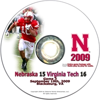 2009 Virginia Tech Dvd Husker football, Nebraska cornhuskers merchandise, husker merchandise, nebraska merchandise, nebraska cornhuskers dvd, husker dvd, nebraska football dvd, nebraska cornhuskers videos, husker videos, nebraska football videos, husker game dvd, husker bowl game dvd, husker dvd subscription, nebraska cornhusker dvd subscription, husker football season on dvd, nebraska cornhuskers dvd box sets, husker dvd box sets, Nebraska Cornhuskers, 2009 Virginia Tech
