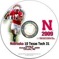 2009 Texas Tech Dvd Husker football, Nebraska cornhuskers merchandise, husker merchandise, nebraska merchandise, nebraska cornhuskers dvd, husker dvd, nebraska football dvd, nebraska cornhuskers videos, husker videos, nebraska football videos, husker game dvd, husker bowl game dvd, husker dvd subscription, nebraska cornhusker dvd subscription, husker football season on dvd, nebraska cornhuskers dvd box sets, husker dvd box sets, Nebraska Cornhuskers, 2009 Texas Tech