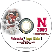 2009 Iowa State Dvd Husker football, Nebraska cornhuskers merchandise, husker merchandise, nebraska merchandise, nebraska cornhuskers dvd, husker dvd, nebraska football dvd, nebraska cornhuskers videos, husker videos, nebraska football videos, husker game dvd, husker bowl game dvd, husker dvd subscription, nebraska cornhusker dvd subscription, husker football season on dvd, nebraska cornhuskers dvd box sets, husker dvd box sets, Nebraska Cornhuskers, 2009 Iowa State