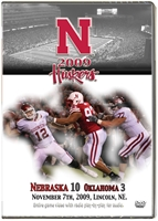 2009 Oklahoma Dvd Husker football, Nebraska cornhuskers merchandise, husker merchandise, nebraska merchandise, nebraska cornhuskers dvd, husker dvd, nebraska football dvd, nebraska cornhuskers videos, husker videos, nebraska football videos, husker game dvd, husker bowl game dvd, husker dvd subscription, nebraska cornhusker dvd subscription, husker football season on dvd, nebraska cornhuskers dvd box sets, husker dvd box sets, Nebraska Cornhuskers, 2009 Oklahoma