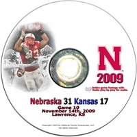 2009 Kansas Dvd Husker football, Nebraska cornhuskers merchandise, husker merchandise, nebraska merchandise, nebraska cornhuskers dvd, husker dvd, nebraska football dvd, nebraska cornhuskers videos, husker videos, nebraska football videos, husker game dvd, husker bowl game dvd, husker dvd subscription, nebraska cornhusker dvd subscription, husker football season on dvd, nebraska cornhuskers dvd box sets, husker dvd box sets, Nebraska Cornhuskers, 2009 Kansas