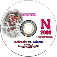 2009 Holiday Bowl Dvd Husker football, Nebraska cornhuskers merchandise, husker merchandise, nebraska merchandise, nebraska cornhuskers dvd, husker dvd, nebraska football dvd, nebraska cornhuskers videos, husker videos, nebraska football videos, husker game dvd, husker bowl game dvd, husker dvd subscription, nebraska cornhusker dvd subscription, husker football season on dvd, nebraska cornhuskers dvd box sets, husker dvd box sets, Nebraska Cornhuskers, 2009 Holiday Bowl vs. Arizona
