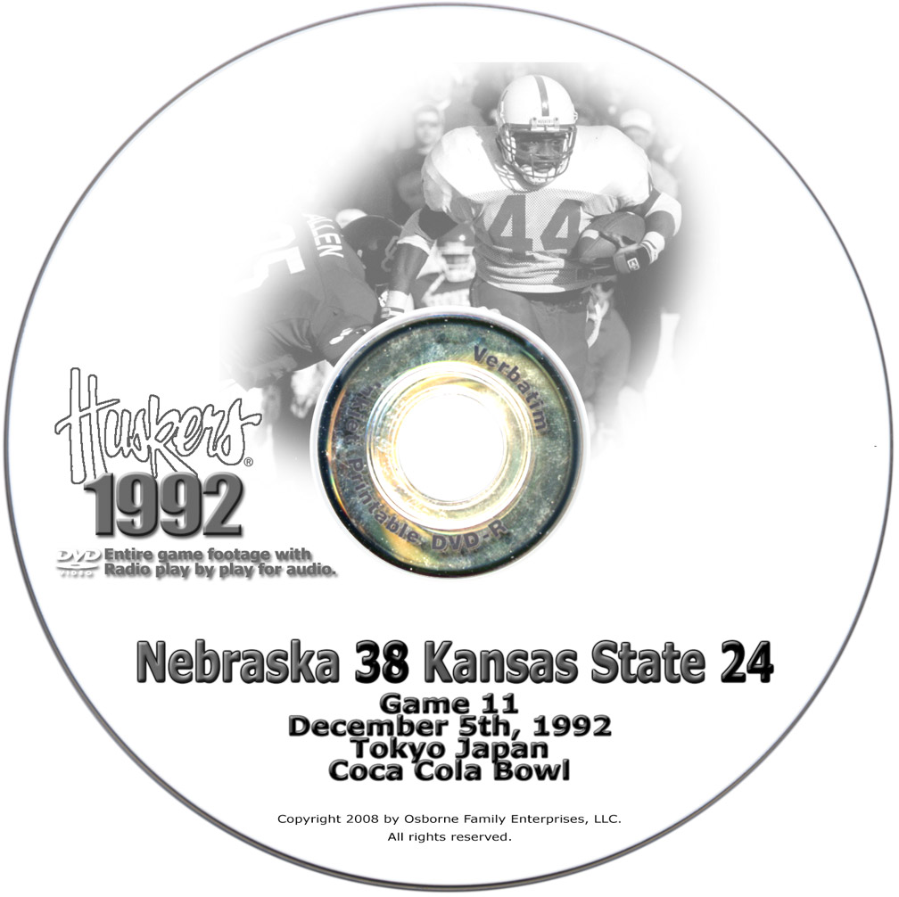 1995 Huskers vs Oklahoma Sooners Husker football, Nebraska cornhuskers merchandise, husker merchandise, nebraska merchandise, nebraska cornhuskers dvd, husker dvd, nebraska football dvd, nebraska cornhuskers videos, husker videos, nebraska football videos, husker game dvd, husker bowl game dvd, husker dvd subscription, nebraska cornhusker dvd subscription, husker football season on dvd, nebraska cornhuskers dvd box sets, husker dvd box sets, Nebraska Cornhuskers, 1995 Oklahoma