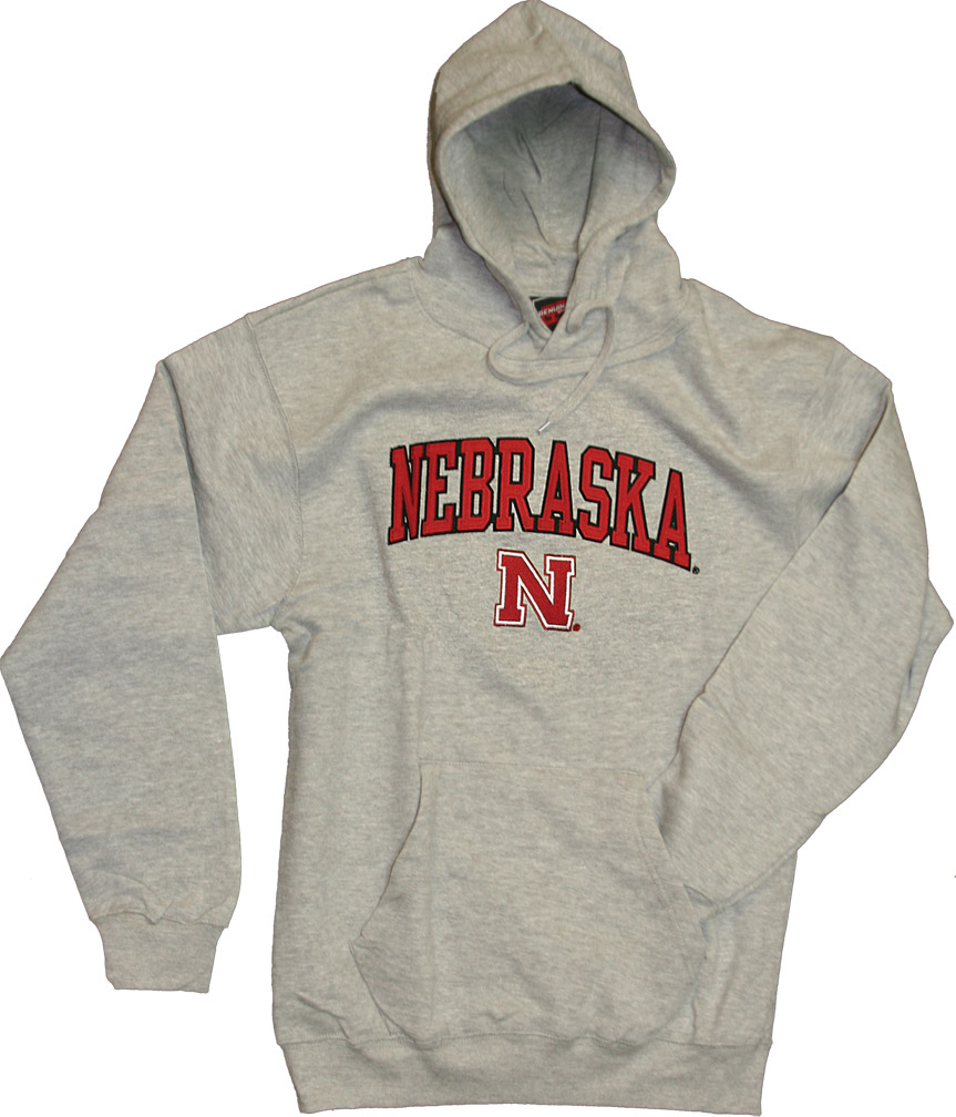 Grey Fleece Hoodie Nebraska Cornhuskers, husker football, nebraska cornhuskers merchandise, nebraska merchandise, husker merchandise, nebraska cornhuskers apparel, husker apparel, nebraska apparel, husker mens apparel, nebraska cornhuskers mens apparel, nebraska mens apparel, husker mens merchandise, nebraska cornhuskers mens merchandise, mens nebraska sweatshirt, mens husker sweatshirt, mens nebraska cornhusker sweatshirt,Grey Fleece Hoodie