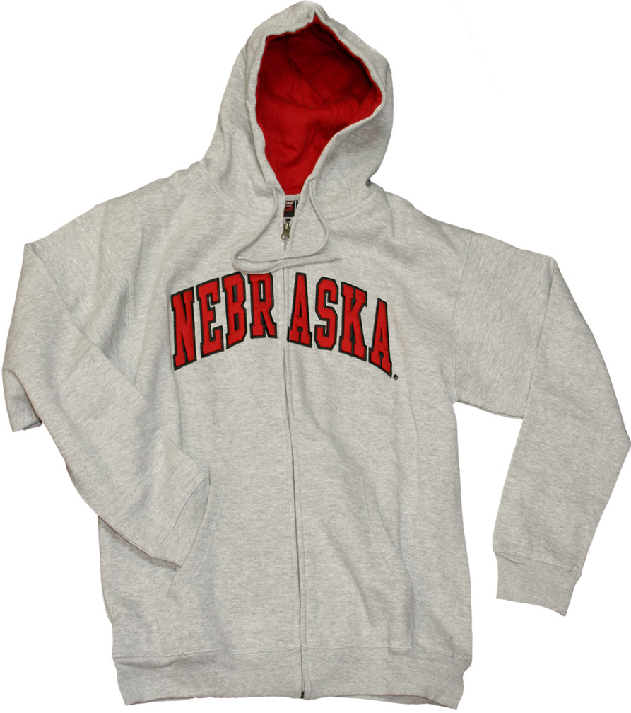 Gray Basic Full Zip Fleece Hoodie Nebraska Cornhuskers, husker football, nebraska cornhuskers merchandise, nebraska merchandise, husker merchandise, nebraska cornhuskers apparel, husker apparel, nebraska apparel, husker mens apparel, nebraska cornhuskers mens apparel, nebraska mens apparel, husker mens merchandise, nebraska cornhuskers mens merchandise, mens nebraska sweatshirt, mens husker sweatshirt, mens nebraska cornhusker sweatshirt,Gray Basic Full Zip Fleece Hoodie