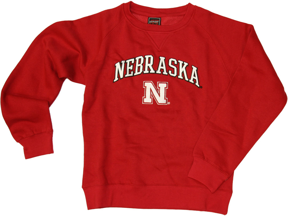 Womens Red Fleece Crew Nebraska Cornhuskers, husker football, nebraska cornhuskers merchandise, nebraska merchandise, husker merchandise, nebraska cornhuskers apparel, husker apparel, nebraska apparel, husker womens apparel, nebraska cornhuskers womens apparel, nebraska womens apparel, husker womens merchandise, nebraska cornhuskers womens merchandise, womens nebraska sweatshirt, womens husker sweatshirt, womens nebraska cornhusker sweatshirt,Womens Red Fleece Crew