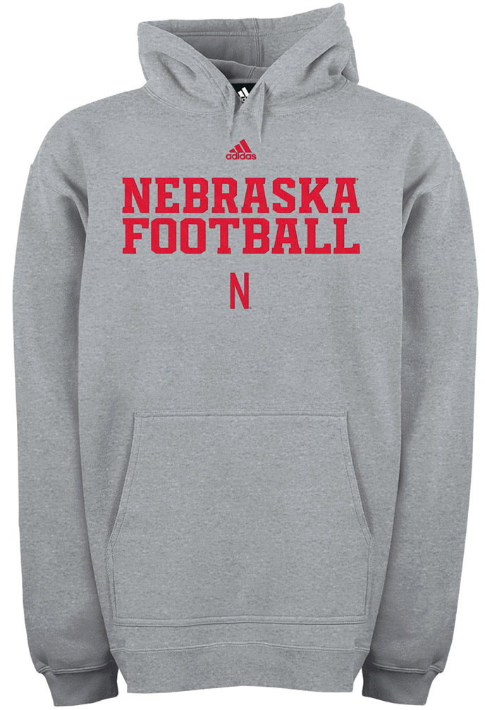 Adidas Fleece Hood Practice Stitch Nebraska Cornhuskers, husker football, nebraska cornhuskers merchandise, nebraska merchandise, husker merchandise, nebraska cornhuskers apparel, husker apparel, nebraska apparel, husker mens apparel, nebraska cornhuskers mens apparel, nebraska mens apparel, husker mens merchandise, nebraska cornhuskers mens merchandise, mens nebraska sweatshirt, mens husker sweatshirt, mens nebraska cornhusker sweatshirt,Adidas Fleece Hood Practice Stitch