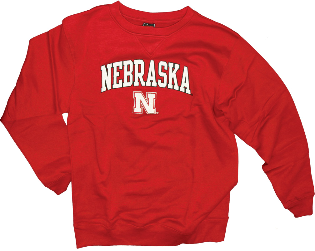 Red Fleece Crew Nebraska Cornhuskers, husker football, nebraska cornhuskers merchandise, nebraska merchandise, husker merchandise, nebraska cornhuskers apparel, husker apparel, nebraska apparel, husker mens apparel, nebraska cornhuskers mens apparel, nebraska mens apparel, husker mens merchandise, nebraska cornhuskers mens merchandise, mens nebraska sweatshirt, mens husker sweatshirt, mens nebraska cornhusker sweatshirt,Red Fleece Crew