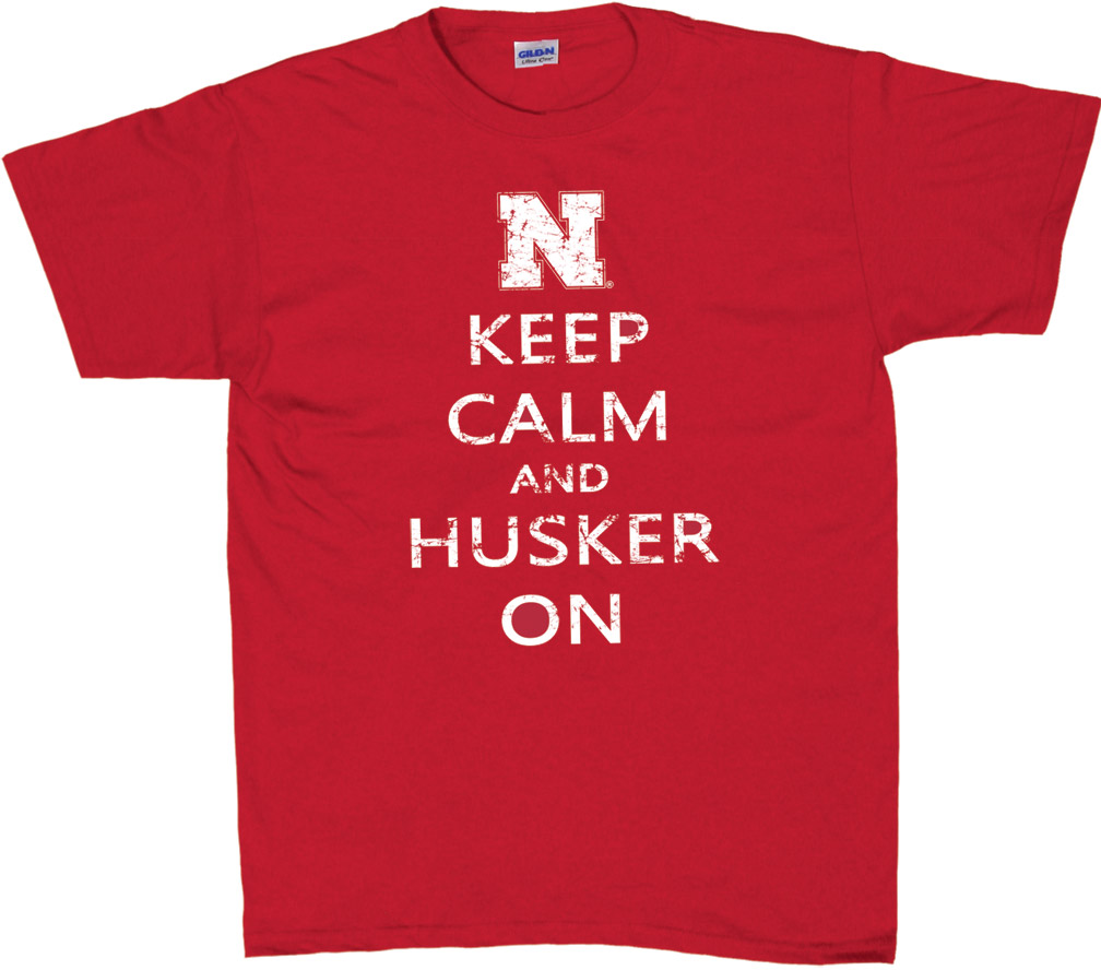 Keep Calm Husker T-shirt Nebraska Cornhuskers, husker football, nebraska cornhuskers merchandise, nebraska merchandise, husker merchandise, nebraska cornhuskers apparel, husker apparel, nebraska apparel, husker mens apparel, nebraska cornhuskers mens apparel, nebraska mens apparel, husker mens merchandise, nebraska cornhuskers mens merchandise, mens nebraska t shirt, mens husker t shirt, mens nebraska cornhusker t shirt,Keep Calm Husker T-shirt