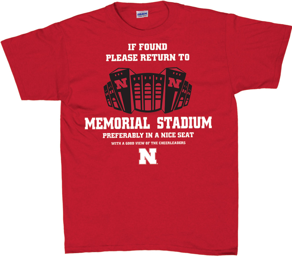 If Found T-shirt Nebraska Cornhuskers, husker football, nebraska cornhuskers merchandise, nebraska merchandise, husker merchandise, nebraska cornhuskers apparel, husker apparel, nebraska apparel, husker mens apparel, nebraska cornhuskers mens apparel, nebraska mens apparel, husker mens merchandise, nebraska cornhuskers mens merchandise, mens nebraska t shirt, mens husker t shirt, mens nebraska cornhusker t shirt,If Found T-shirt
