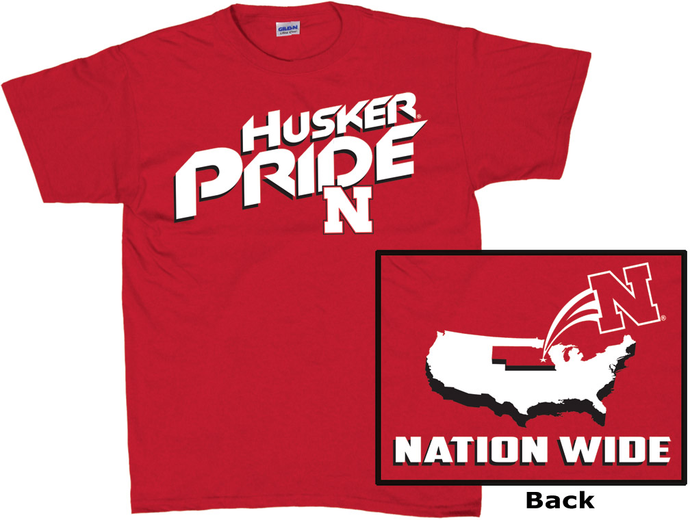 Husker Pride Nationwide Red Nebraska Cornhuskers, husker football, nebraska cornhuskers merchandise, nebraska merchandise, husker merchandise, nebraska cornhuskers apparel, husker apparel, nebraska apparel, husker mens apparel, nebraska cornhuskers mens apparel, nebraska mens apparel, husker mens merchandise, nebraska cornhuskers mens merchandise, mens nebraska t shirt, mens husker t shirt, mens nebraska cornhusker t shirt,Husker Pride Nationwide Red