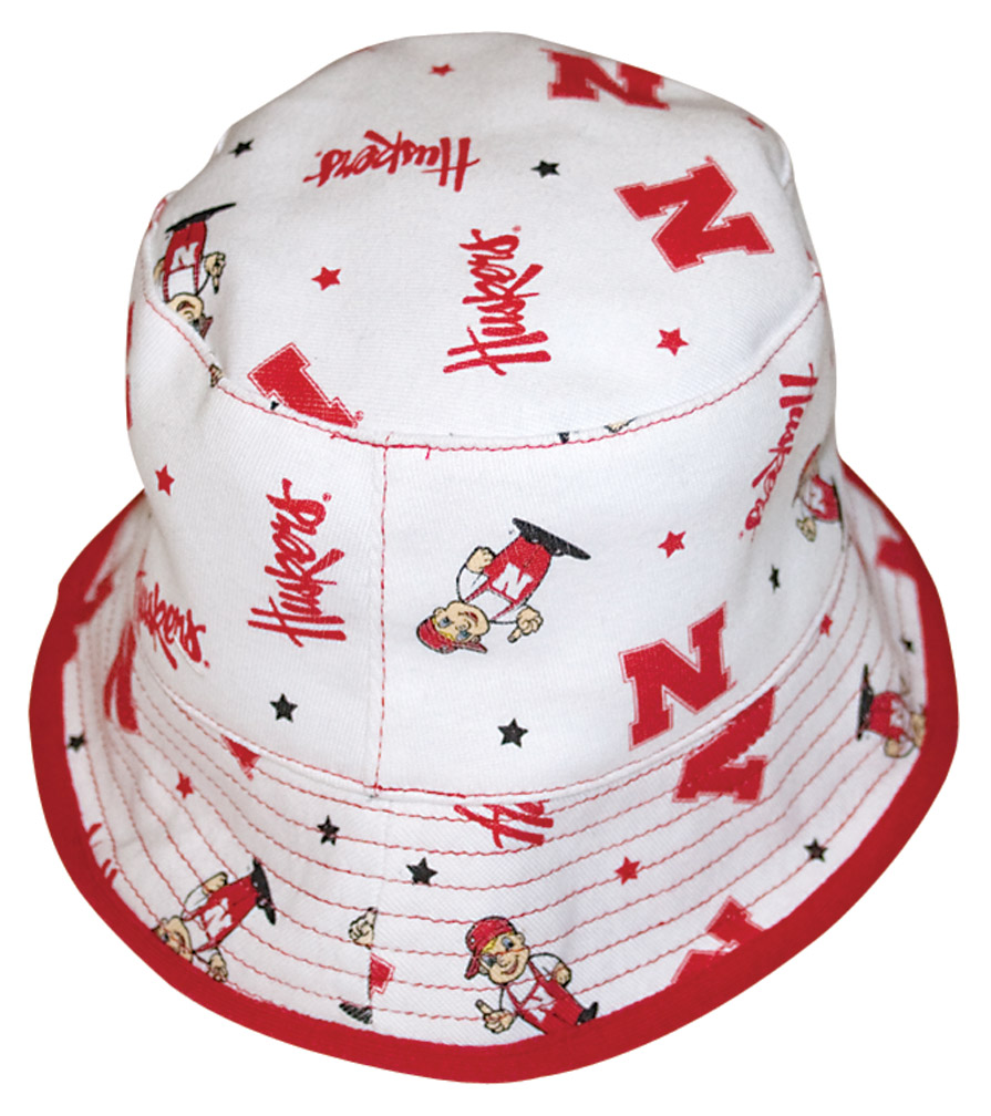 Mascot Bucket Cap Nebraska Cornhuskers, husker football, nebraska cornhuskers merchandise, nebraska merchandise, husker merchandise, nebraska cornhuskers apparel, husker apparel, nebraska apparel, husker childrens apparel, nebraska cornhuskers childrens apparel, nebraska kids apparel, husker kids apparel, husker kids merchandise, nebraska cornhuskers kids merchandise,Mascot Bucket Cap