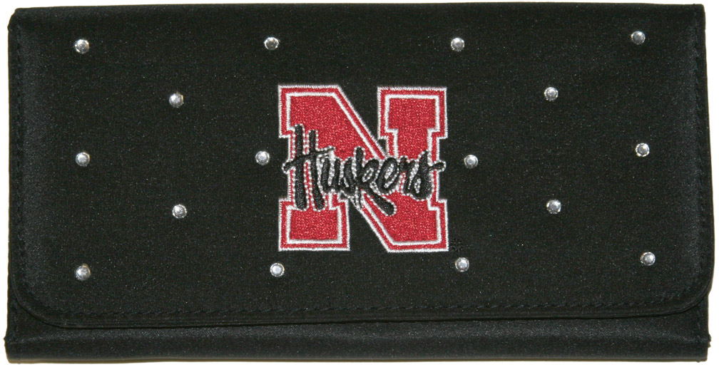 Ladies Wallet with Rhinestones Nebraska Cornhuskers, husker football, nebraska cornhuskers merchandise, nebraska merchandise, husker merchandise, nebraska cornhuskers apparel, husker apparel, nebraska apparel, husker womens apparel, nebraska cornhuskers womens apparel, nebraska womens apparel, husker womens merchandise, nebraska cornhuskers womens merchandise, womens nebraska accessories, womens husker accessories, womens nebraska cornhusker accessories,Ladies Wallet with Rhinestones