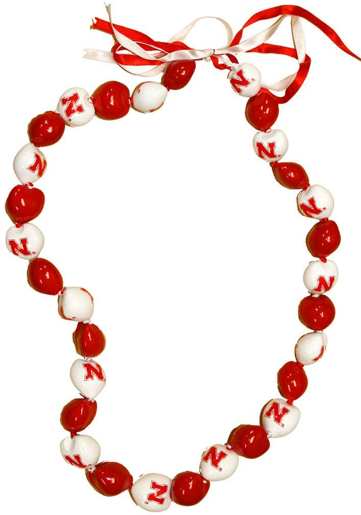 HUSKER KUKUI NUT NECKLACE Nebraska Cornhuskers, husker football, nebraska cornhuskers merchandise, nebraska merchandise, husker merchandise, nebraska cornhuskers apparel, husker apparel, nebraska apparel, husker womens apparel, nebraska cornhuskers womens apparel, nebraska womens apparel, husker womens merchandise, nebraska cornhuskers womens merchandise, womens nebraska accessories, womens husker accessories, womens nebraska cornhusker accessories,HUSKER KUKUI NUT NECKLACE