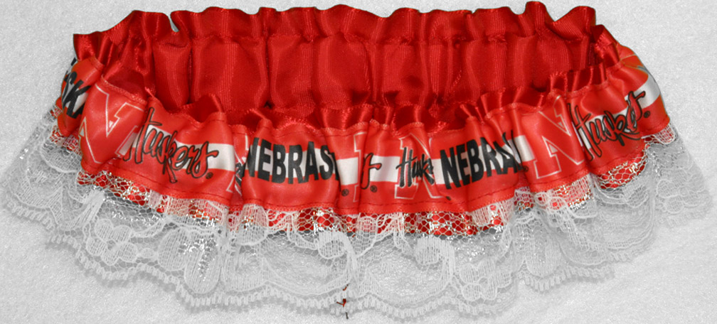 Lace Husker Garter Nebraska Cornhuskers, husker football, nebraska cornhuskers merchandise, nebraska merchandise, husker merchandise, nebraska cornhuskers apparel, husker apparel, nebraska apparel, husker womens apparel, nebraska cornhuskers womens apparel, nebraska womens apparel, husker womens merchandise, nebraska cornhuskers womens merchandise, womens nebraska accessories, womens husker accessories, womens nebraska cornhusker accessories,Lace Husker Garter