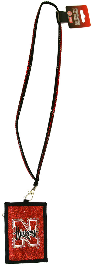Nebraska Beaded Lanyard W/Nylon Wallet Nebraska Cornhuskers, husker football, nebraska cornhuskers merchandise, nebraska merchandise, husker merchandise, nebraska cornhuskers apparel, husker apparel, nebraska apparel, husker mens apparel, nebraska cornhuskers womens apparel, nebraska mens apparel, husker mens merchandise, nebraska cornhuskers mens merchandise, mens nebraska accessories, mens husker accessories,men nebraska cornhusker accessories, Nebraska Beaded Lanyard W/Nylon Wallet