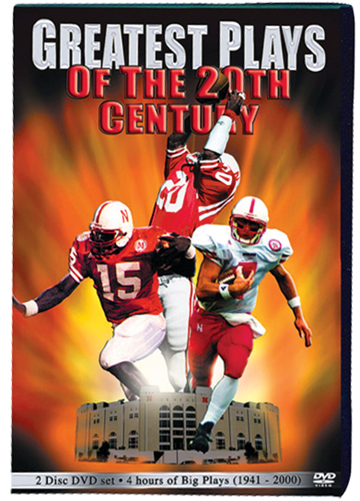 Greatest Plays DVD Husker football, Nebraska cornhuskers merchandise, husker merchandise, nebraska merchandise, nebraska cornhuskers dvd, husker dvd, nebraska football dvd, nebraska cornhuskers videos, husker videos, nebraska football videos, husker game dvd, husker bowl game dvd, husker dvd subscription, nebraska cornhusker dvd subscription, husker football season on dvd, nebraska cornhuskers dvd box sets, husker dvd box sets, Nebraska Cornhuskers, Greatest Plays DVD