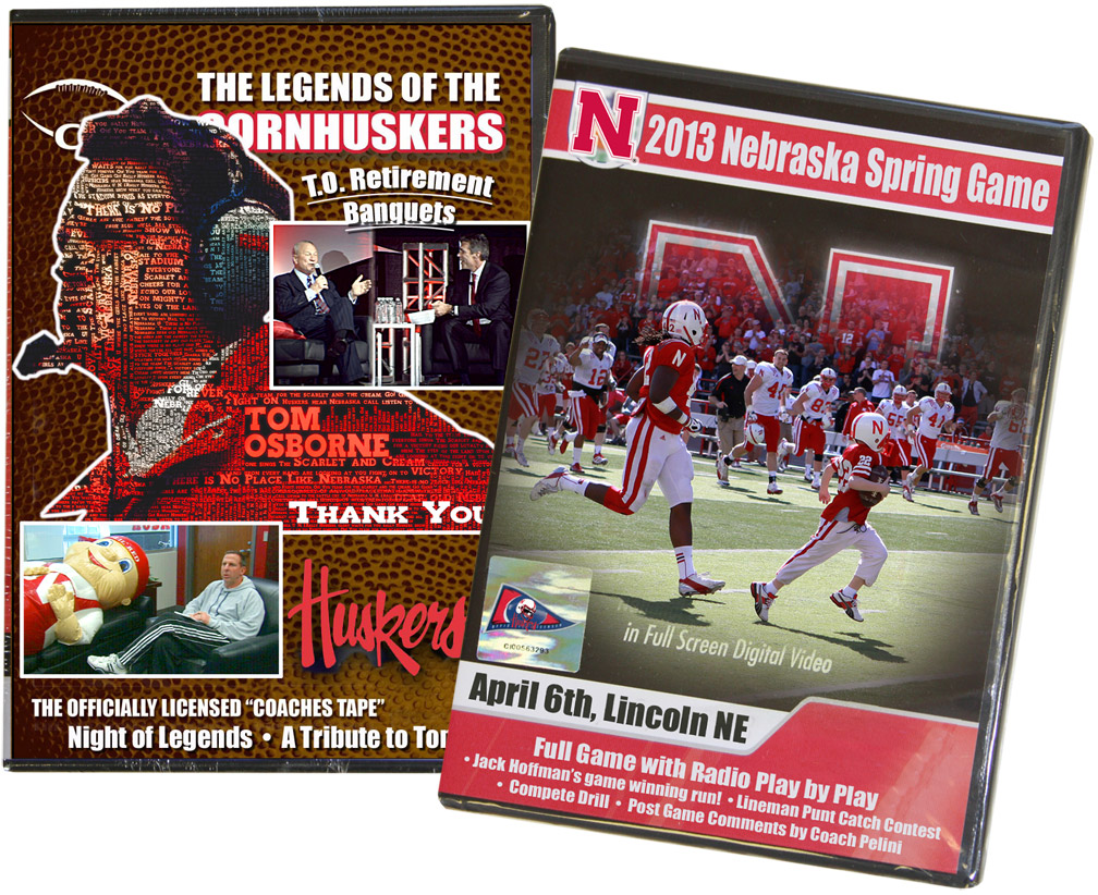 Proud To Be A Nebraskan DVD Bundle feat. 2013 Spring Game and TO Retirement Banquets DVD Bundle of 2013 Spring Game Featuring Jacks Run and Tom Osborne Retirement Banquets, Husker football, Nebraska cornhuskers merchandise, husker merchandise, nebraska merchandise, nebraska cornhuskers dvd, husker dvd, nebraska football dvd, nebraska cornhuskers videos, husker videos, nebraska football videos, husker game dvd, husker bowl game dvd, husker dvd subscription, nebraska cornhusker dvd subscription, husker football season on dvd, nebraska cornhuskers dvd box sets, husker dvd box sets, Nebraska Cornhuskers