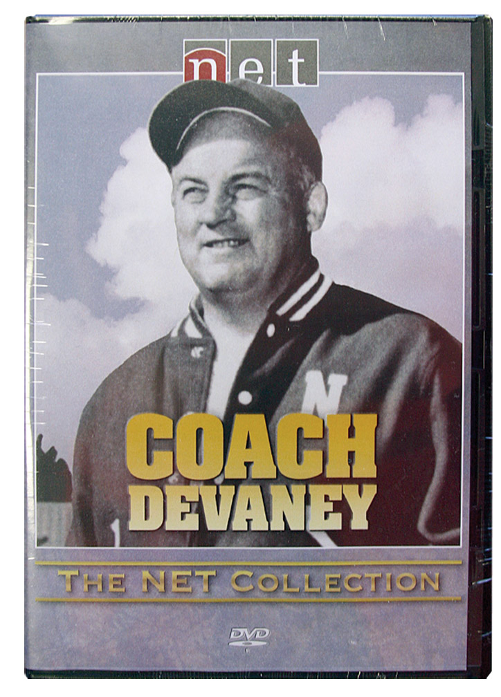 Devaney Documentary DVD by NETV Husker football, Nebraska cornhuskers merchandise, husker merchandise, nebraska merchandise, nebraska cornhuskers dvd, husker dvd, nebraska football dvd, nebraska cornhuskers videos, husker videos, nebraska football videos, husker game dvd, husker bowl game dvd, husker dvd subscription, nebraska cornhusker dvd subscription, husker football season on dvd, nebraska cornhuskers dvd box sets, husker dvd box sets, Nebraska Cornhuskers, Devaney Documentary DVD by NETV