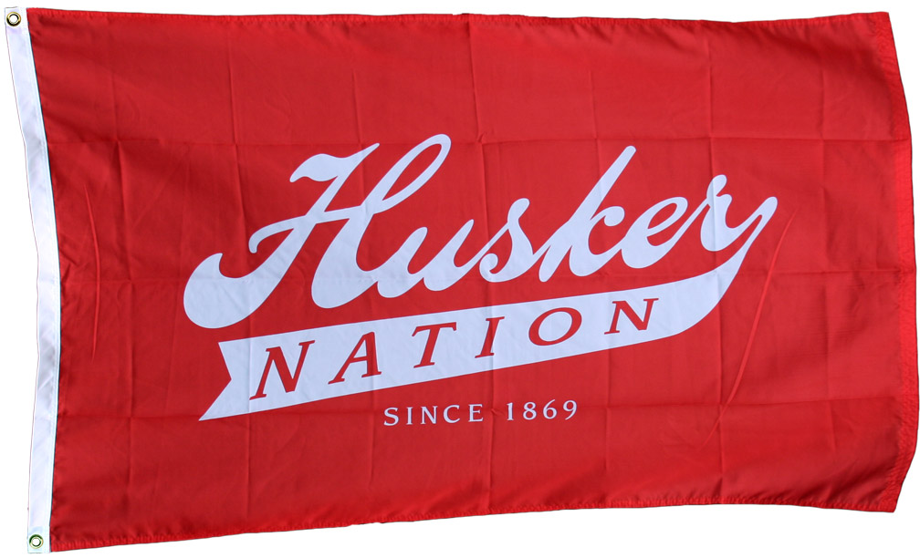 Husker Nation Flag Nebraska Cornhuskers, Husker Nation Flag