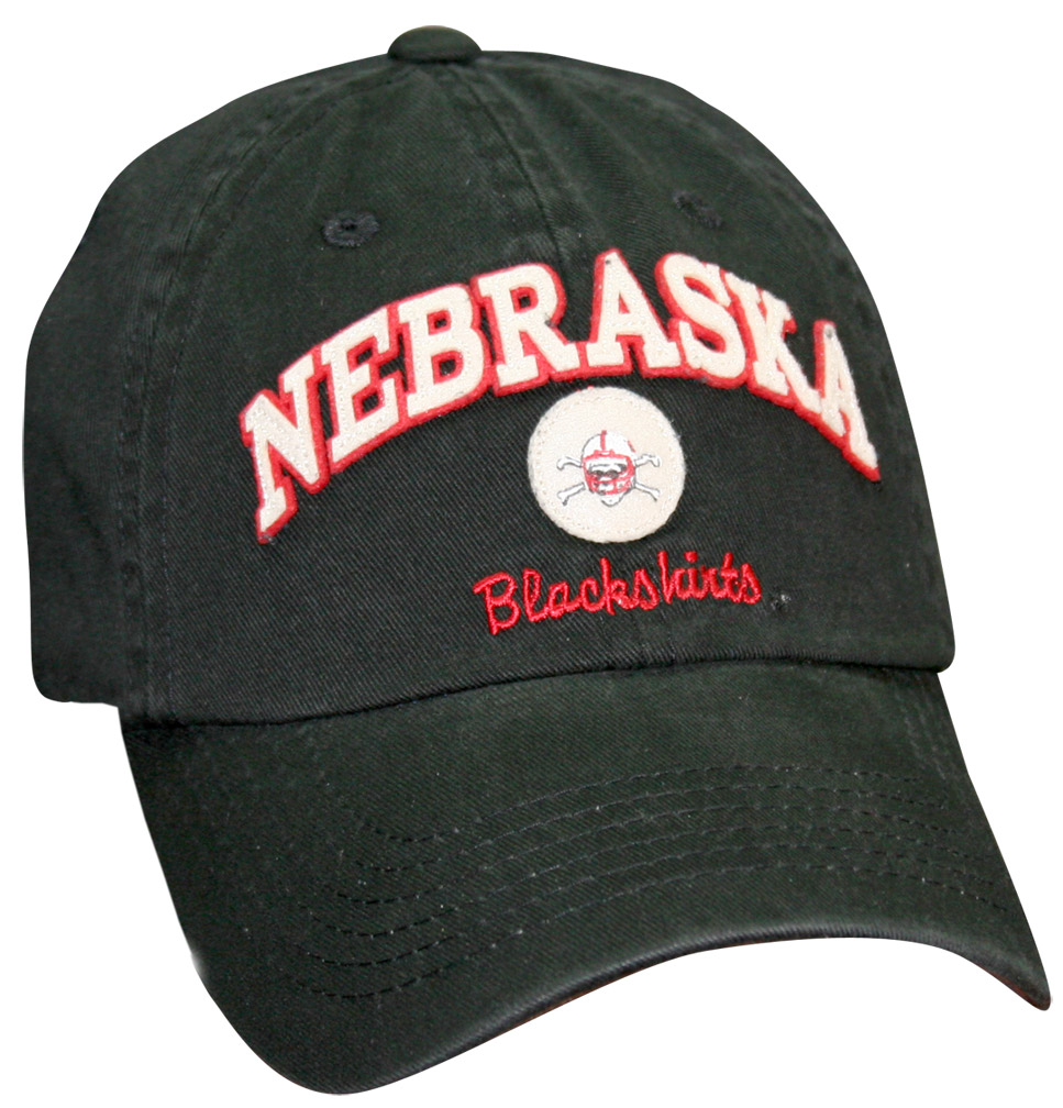 Old Timer Nebr With Blackshirt Graphic Hat Black husker football, nebraska merchandise, husker merchandise, nebraska cornhuskers apparel, husker apparel, nebraska apparel, husker hats, nebraska hats, nebraska caps, husker caps, Nebraska Cornhuskers, Old Timer Nebr With Blackshirt Graphic Hat Black