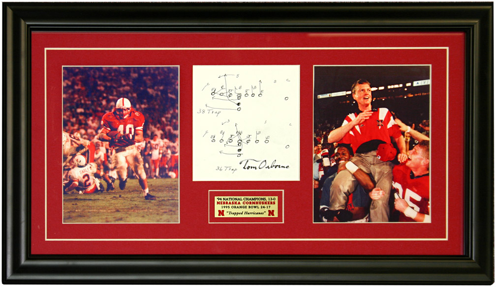 Trapped Hurricanes Nebraska Cornhuskers, husker football, nebraska cornhuskers merchandise, husker merchandise, nebraska merchandise, husker memorabilia, husker autographed, nebraska cornhuskers autographed, Tom Osborne autographed, Tom Osborne signed, Tom Osborne collectible, Tom Osborne, nebraska cornhuskers memorabilia, nebraska cornhuskers collectible,  Trapped Hurricanes
