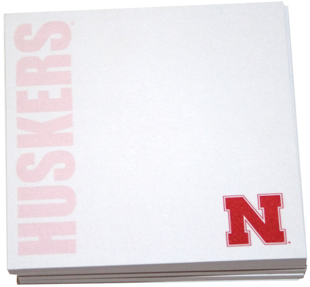 Post it Notes Nebraska Cornhuskers, Post it Notes