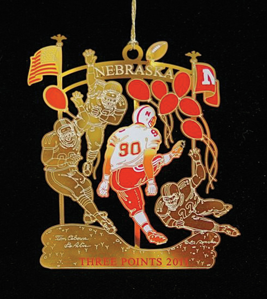 WILLOW POINT 2011 ORNAMENT Nebraska Cornhuskers, WILLOW POINT 2011 ORNAMENT