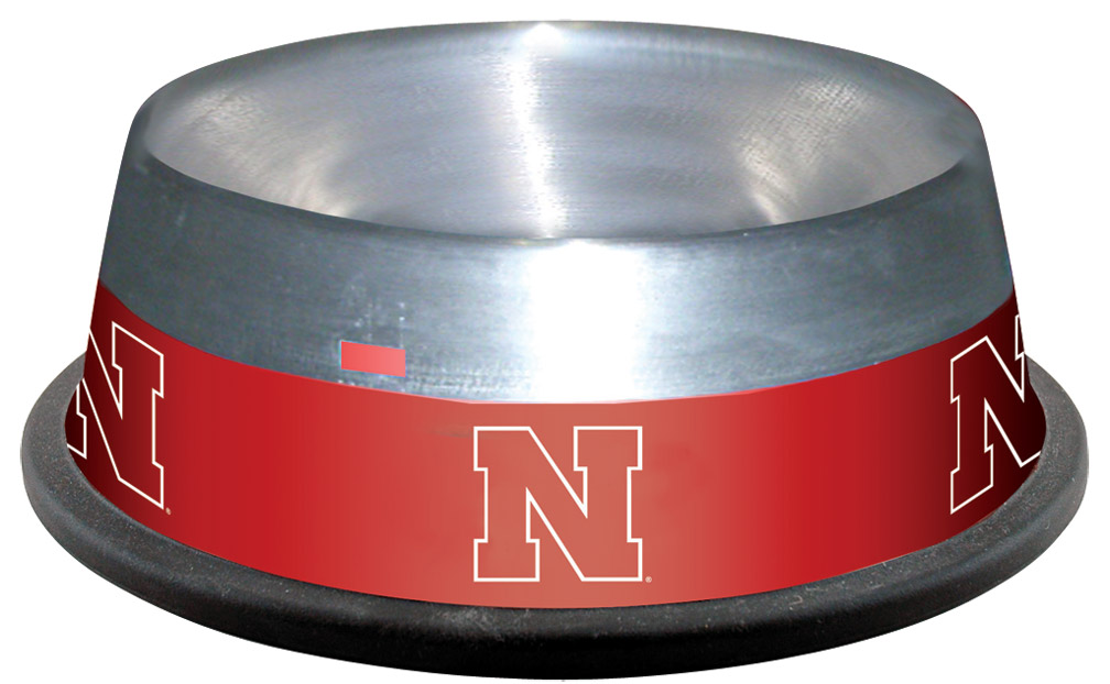 Stainless Steel Pet Bowl Nebraska Cornhuskers, husker football, nebraska merchandise, husker merchandise, nebraska cornhusker merchandise, nebraska cornhuskers pet items, husker pet items, husker dog bowl, nebraska dog bowl, husker pet bowl, nebraska cornhuskers pet bowl, nebraska cornhuskers dog bowl, Stainless Steel Pet Bowl
