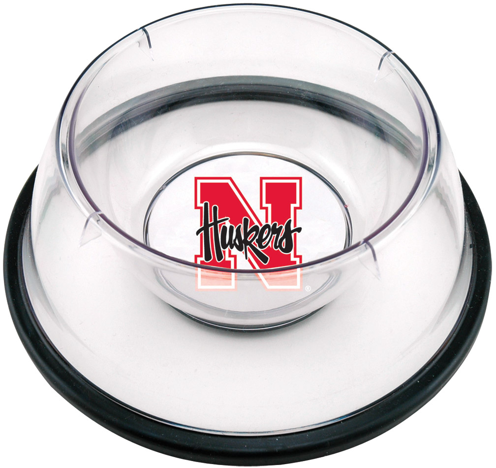 Small Pet Bowl Nebraska Cornhuskers, husker football, nebraska merchandise, husker merchandise, nebraska cornhusker merchandise, nebraska cornhuskers pet items, husker pet items, Small Pet Bowl