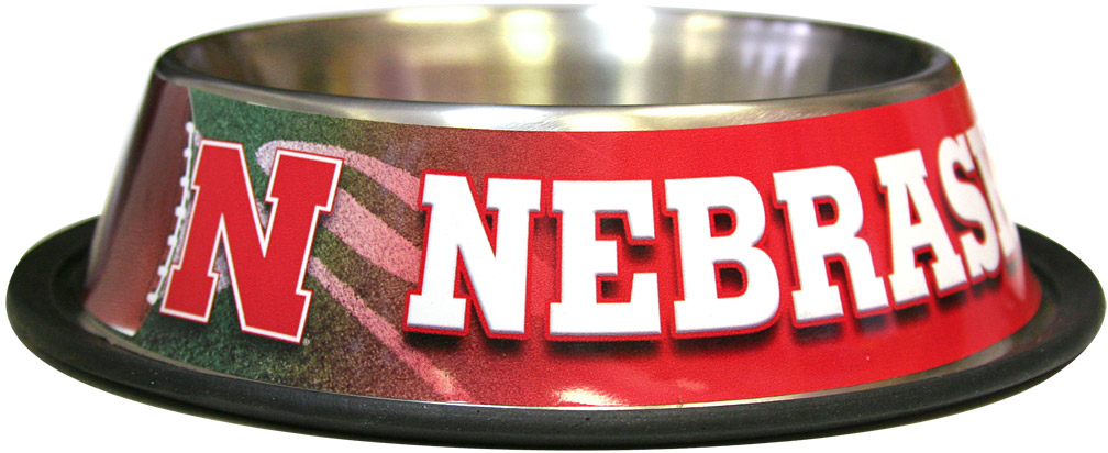Nebraska Husker Sport Pet Bowl Nebraska Cornhuskers, husker football, nebraska merchandise, husker merchandise, nebraska cornhusker merchandise, nebraska cornhuskers pet items, husker pet items,Nebraska Husker Sport Pet Bowl