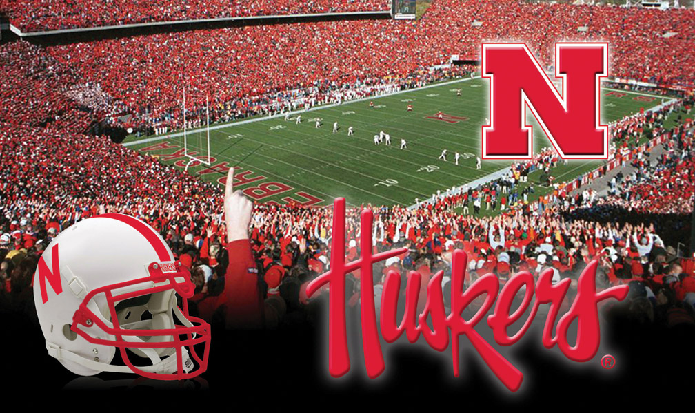 Sublimated Door Mat Nebraska Cornhuskers, Sublimated Door Mat