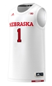 2018 Adidas Huskers Home Basketball Jersey No. 1