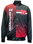 Husker Champs Reversible Letterman Jacket