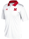Adidas 2017 Husker Sideline Coaches Road Polo