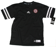 Youth Adidas Black Customized Jersey