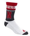 Adidas Huskers White Stripe Crew Sock