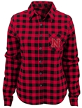 Adidas Youth Husker Buffalo Plaid Flannel