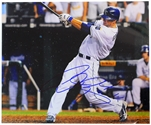 Alex Gordon Autographed Action Photo