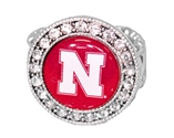 Bling Nebraska Stretch Ring