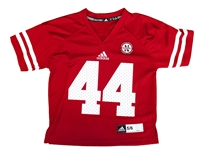Children's Nebraska 44 Red Jersey